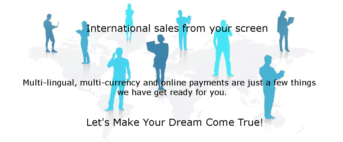 International sales from your screen