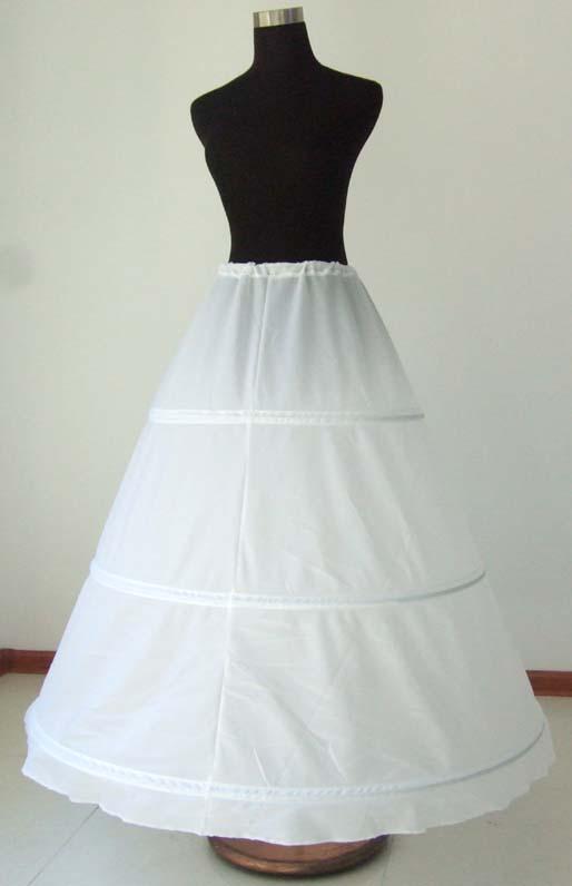 3 Hoop Underskirt Crinoline/Petticoat